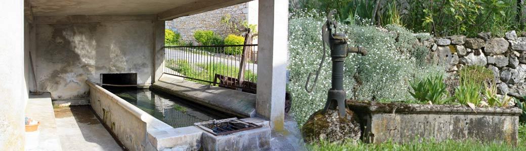 Lavoir Pompe à eau Corbonod